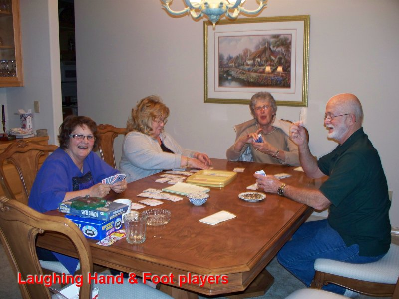 Laughing Hand & Foot players