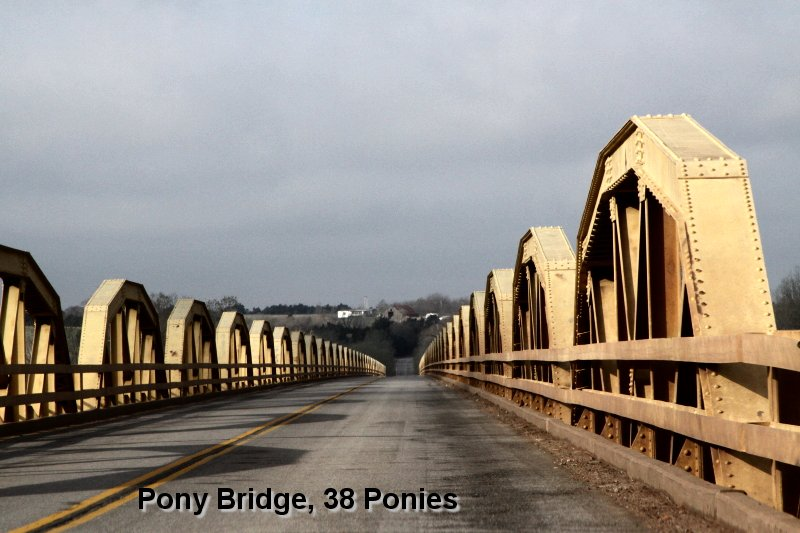 Pony Bridge, 38 Ponies