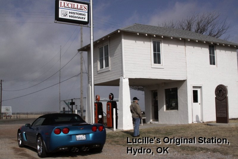 Lucille's Original Station, Hydro, OK