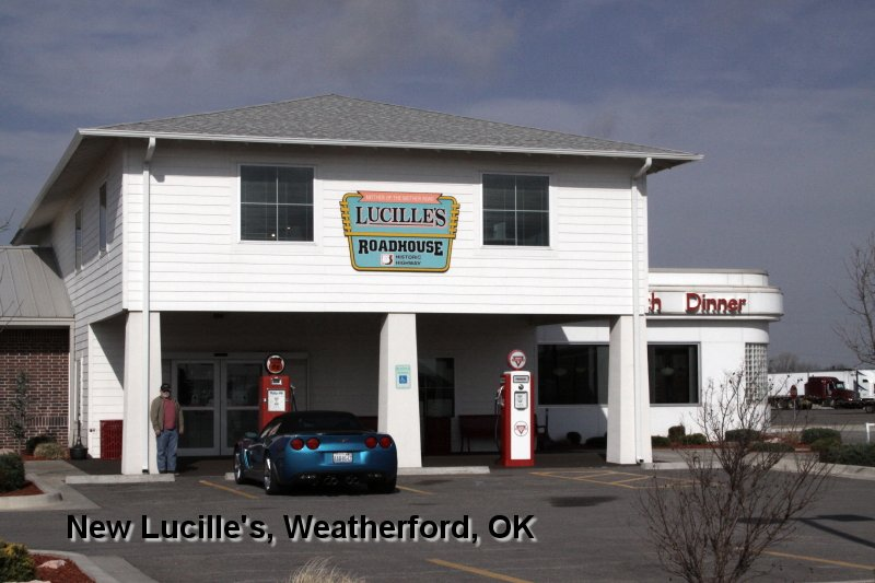 New Lucille's, Weatherford, OK