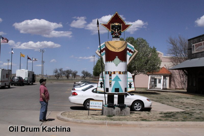 Oil Drum Kachina