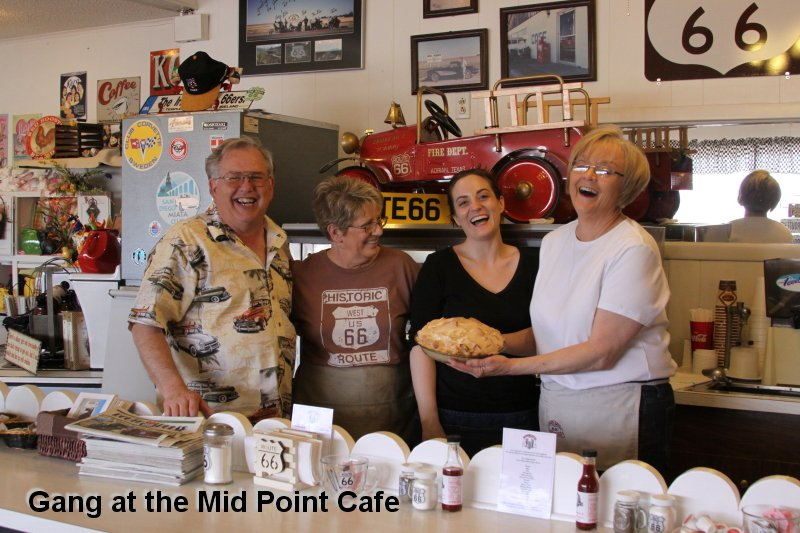 Gang at the Mid Point Cafe