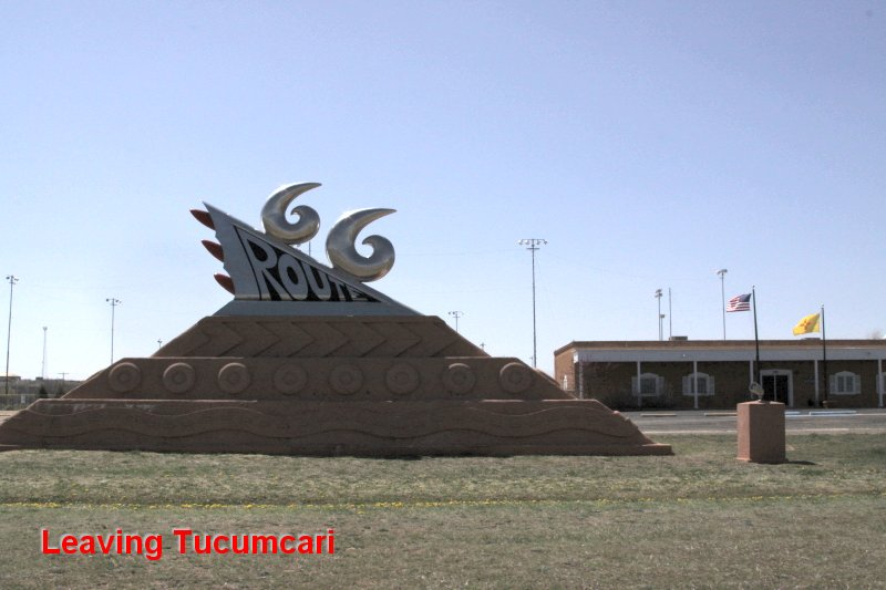 Leaving Tucumcari