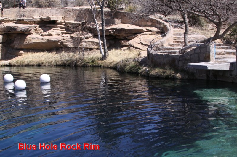 Blue Hole Rock Rim