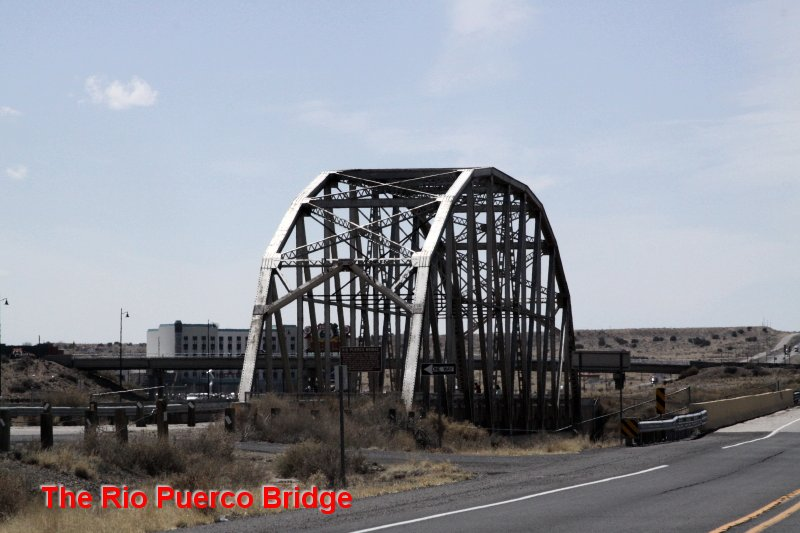 The Rio Puerco Bridge