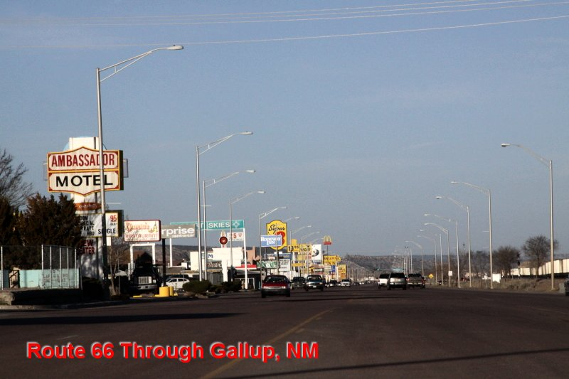Route 66 Through Gallup, NM