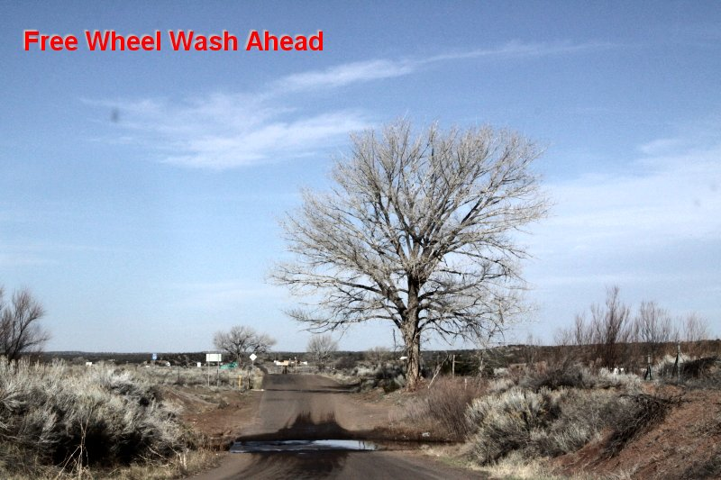 Free Wheel Wash Ahead