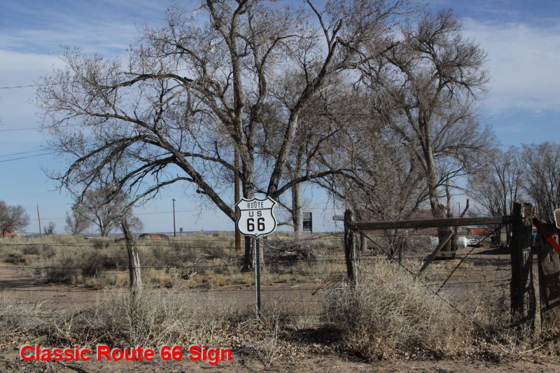 Classic Route 66 Sign
