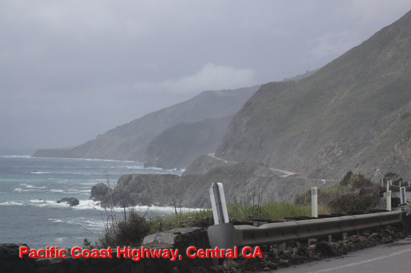 Pacific Coast Highway, Central CA