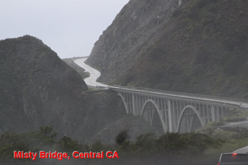 Misty Bridge, Central CA