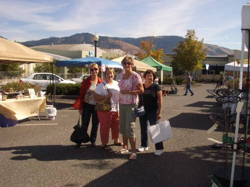 Farmers Market, Hood River OR